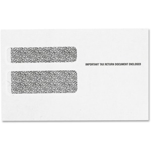 Tops W-2 Form Double Window Envelope TOP2219LR