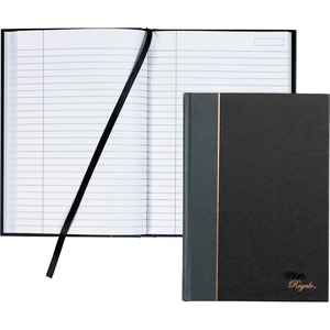 "Tops Royal Executive Business Notebook - 96 Sheet(s) - 20lb - Ruled - 5.88"" x 8.25"" - 1 Each - White"