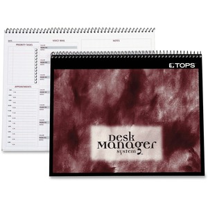 Tops Desk Manager Multi-tasking Notebook TOP41201