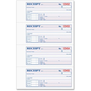 Tops Manifold Receipt Book TOP46808