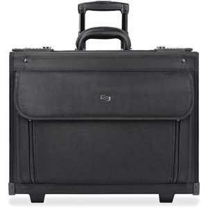 "Solo Classic Carrying Case (Roller) for 17"" Notebook - Black USLB784"