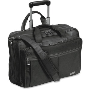 "Solo Classic Carrying Case (Roller) for 15.6"" Notebook - Black USLD5294"