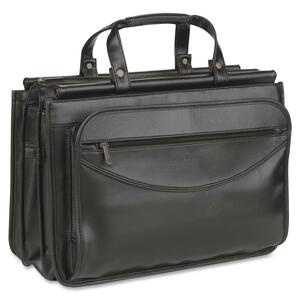 Solo Classic Carrying Case (Briefcase) for Document - Black USLK464