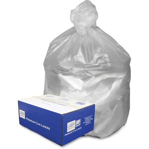 Webster Ultra Plus High Density Trash Can Liner WBIWHD2408