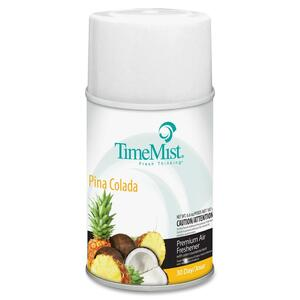 TimeMist Metered Air Freshener Refill - Aerosol - 9000ft³ - 6.6 oz - Pina Colada - 30 Day