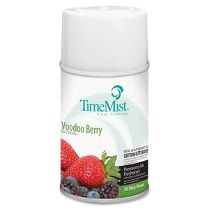 TimeMist Metered Air Freshener Refill - Aerosol - 9000ft³ - 6.6 oz - Voodoo Berry - 30 Day