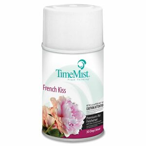 TimeMist Metered Air Freshener Refill - Aerosol - 9000ft³ - 6.6 oz - French Kiss - 30 Day