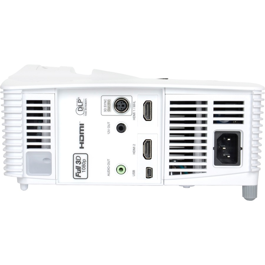 Optoma EH200ST Full 3D 1080p 3000 Lumen DLP Short Throw Projector with 20,000:1 Contrast Ratio and MHL Enabled_subImage_3