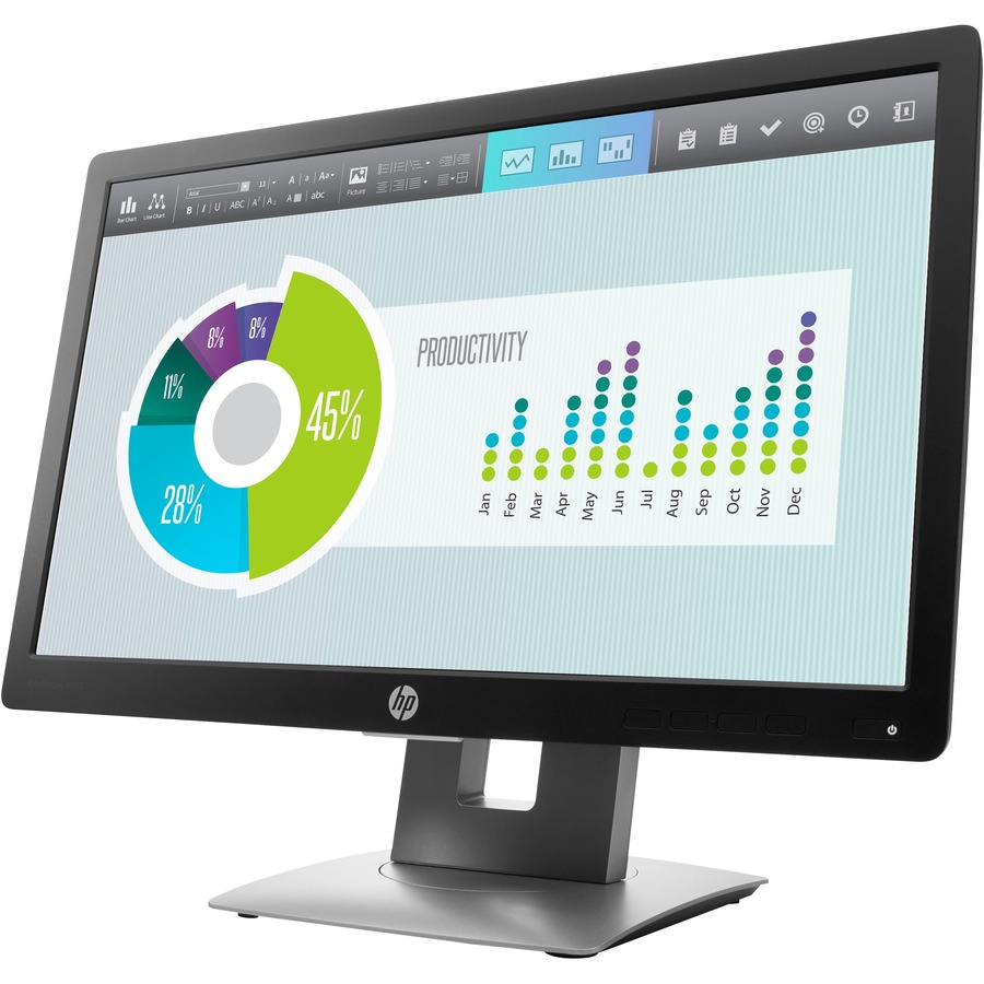 """HP Business E202 20"""" HD+ LED LCD Monitor - 16:9_subImage_3"""