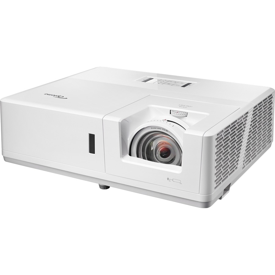 Optoma ProScene ZU606TST-W 3D Ready Short Throw DLP Projector - 16:10 - White_subImage_5
