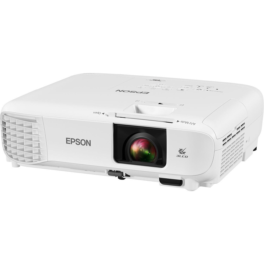 Epson PowerLite E20 LCD Projector - 4:3 - White_subImage_4