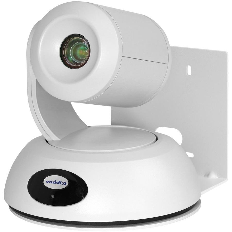Vaddio RoboSHOT Elite Video Conferencing Camera - 8.5 Megapixel - 60 fps - White - USB 3.0 - 1 Pack(s)_subImage_4