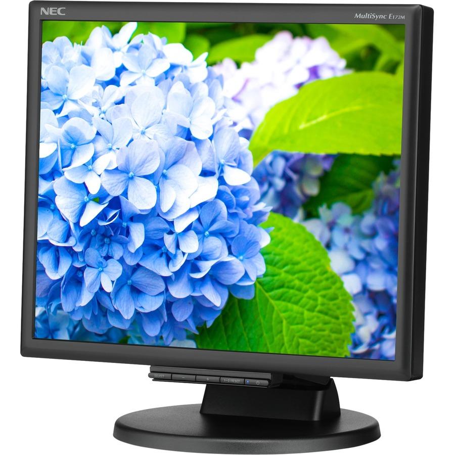"""NEC Display E172M-BK 17"""" SXGA LED LCD Monitor - 5:4 - Black_subImage_2"""