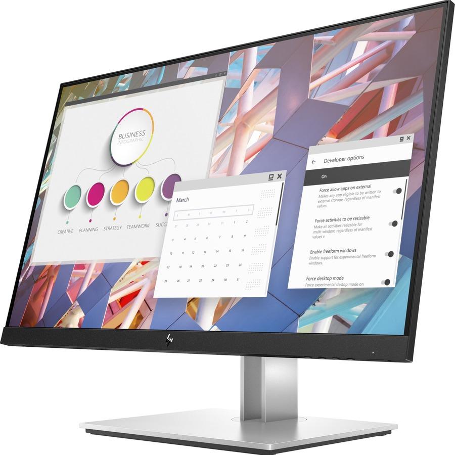 """HP E24 G4 23.8"""" Full HD LED LCD Monitor - 16:9 - Black_subImage_4"""