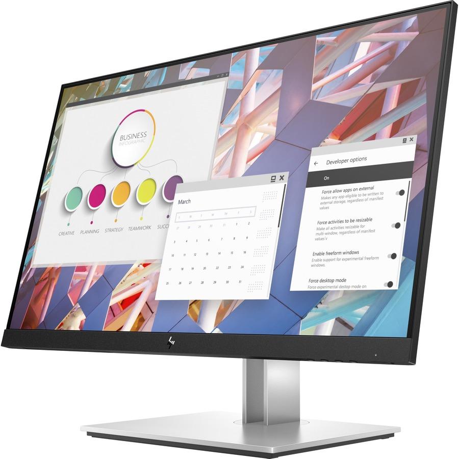 "HP E24 G4 23.8"" Full HD LCD Monitor - 16:9 - Black_subImage_4"