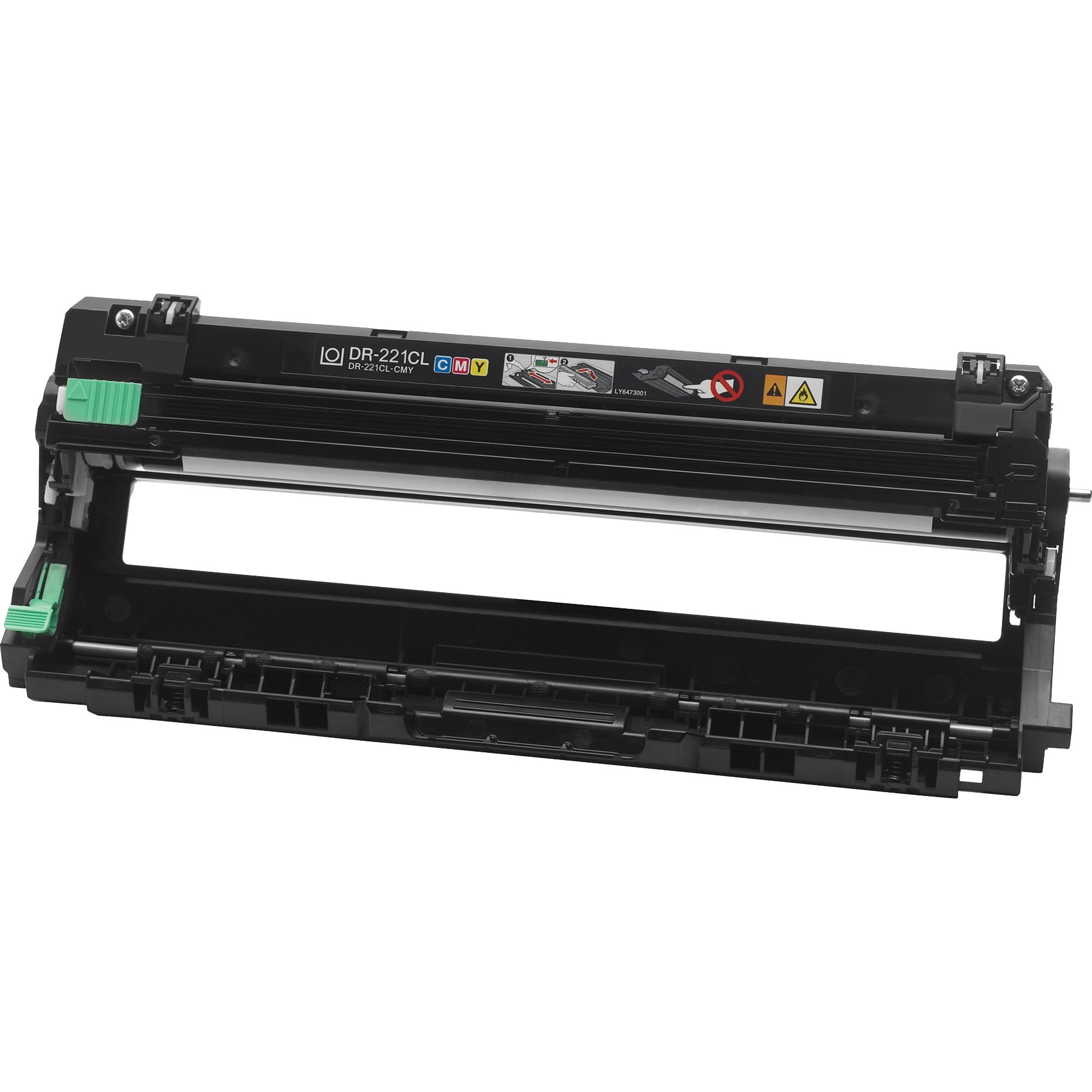 how to change the drum on brother laser printer