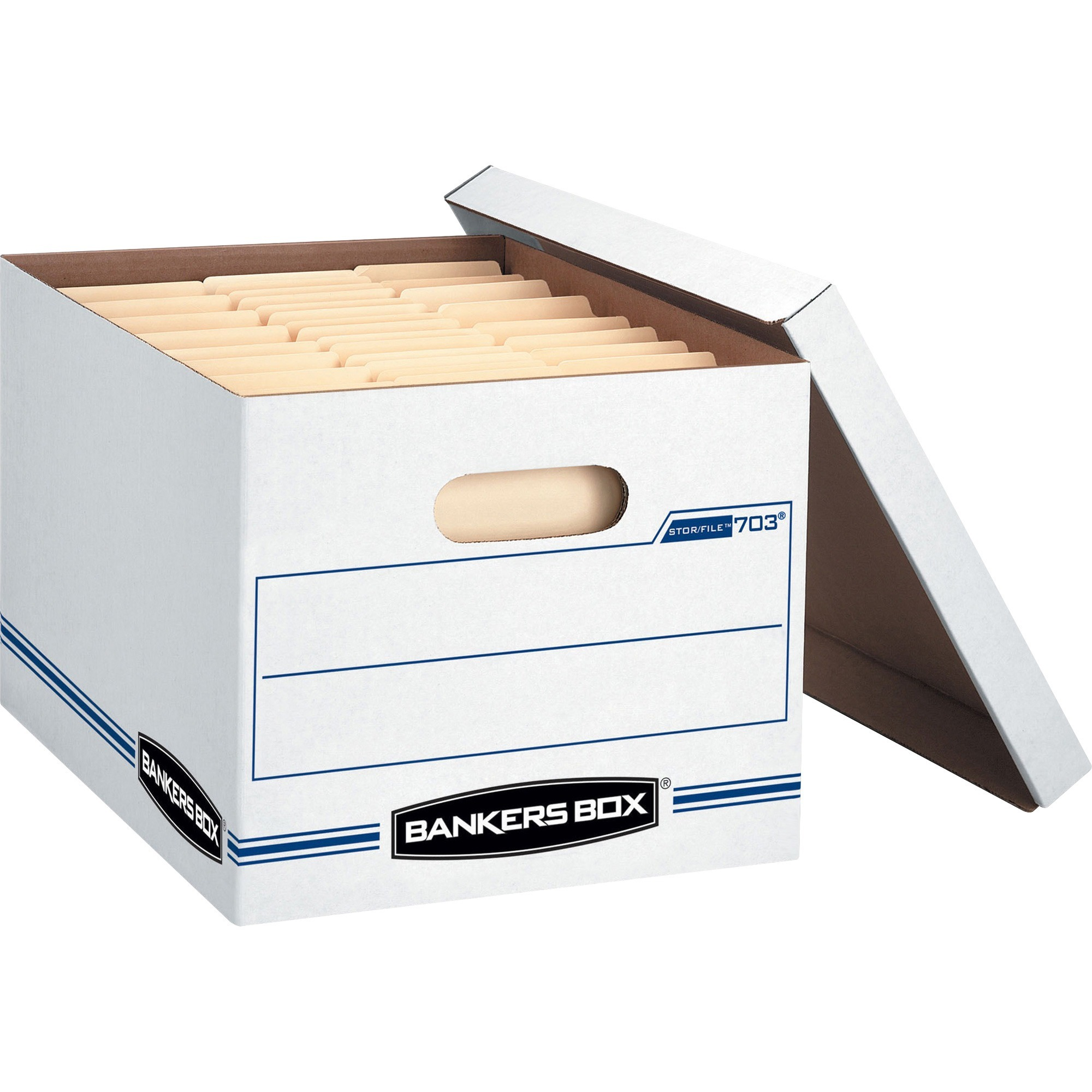 Bankers Box Stor/File - Letter/Legal, Lift-Off Lid