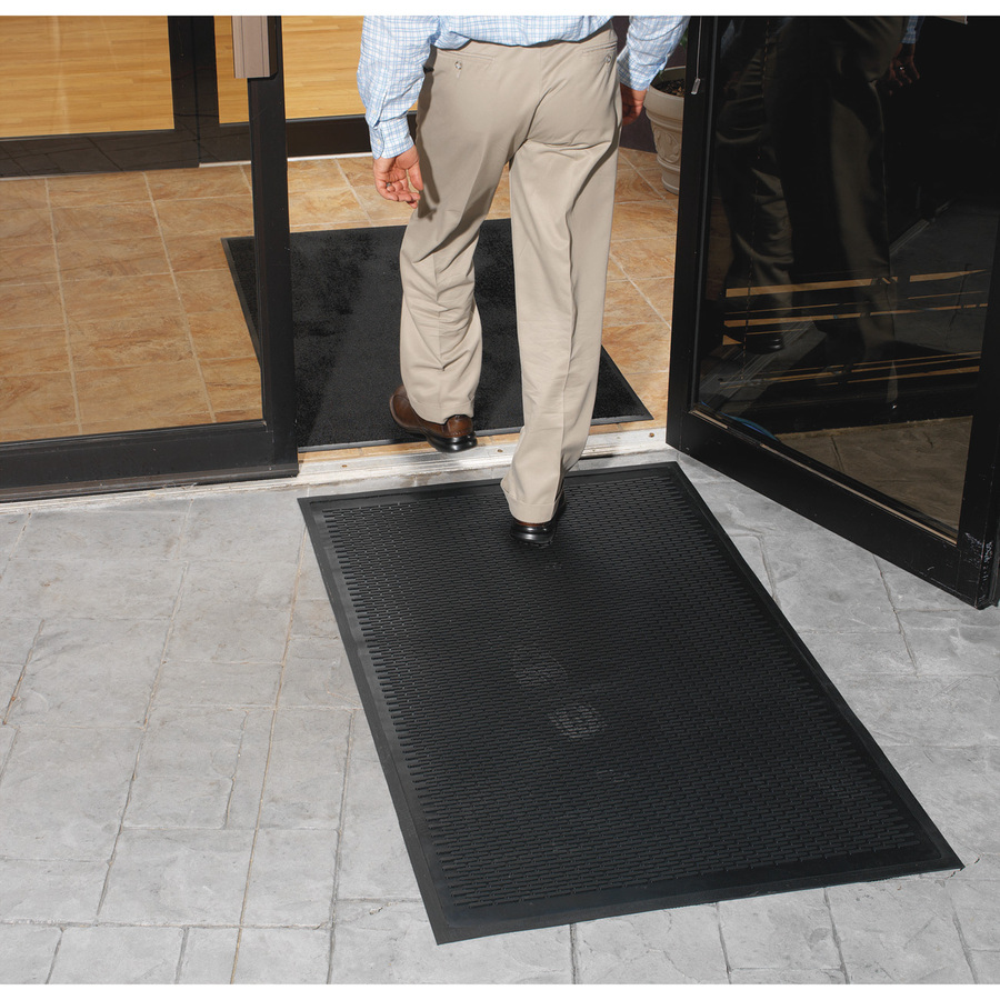Floor mats business - Genuine Joe Clean Step Scraper Floor Mats Icc Business Products Office Products Copiers Printers Promotional Products Indianapolis In