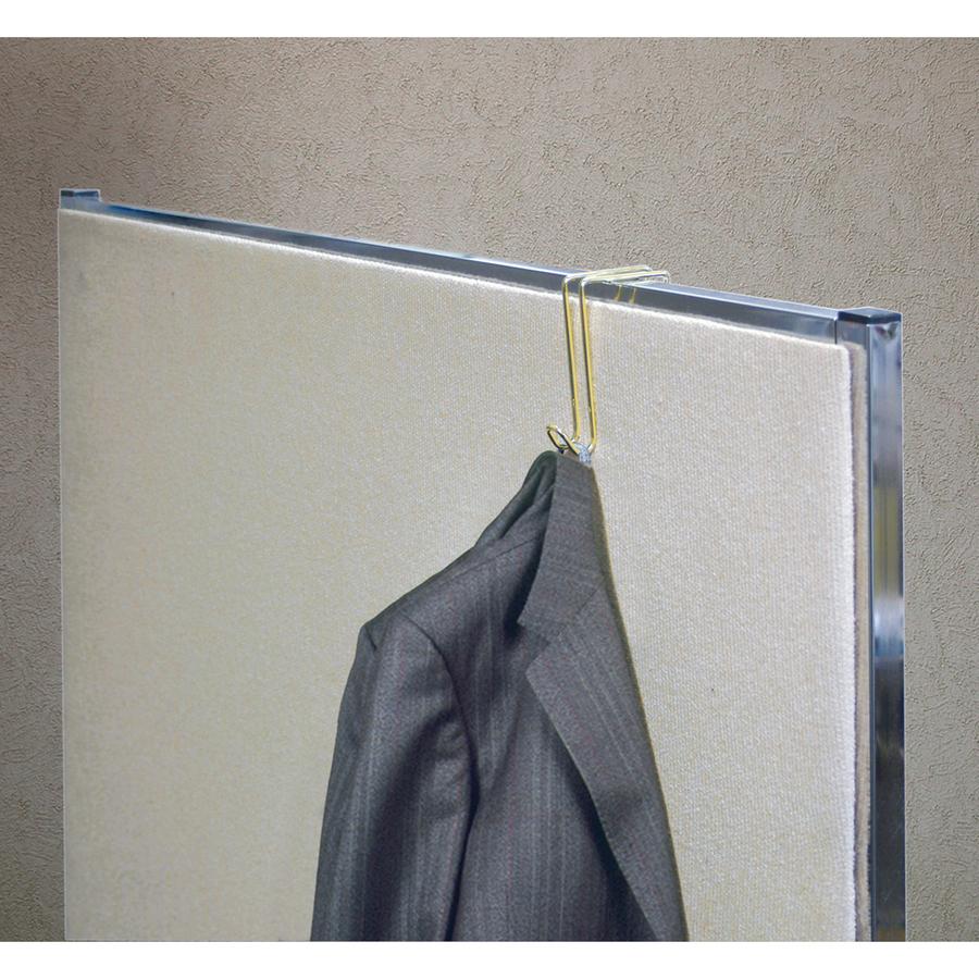 Artistic Steel/Golden Finish Garment Hook
