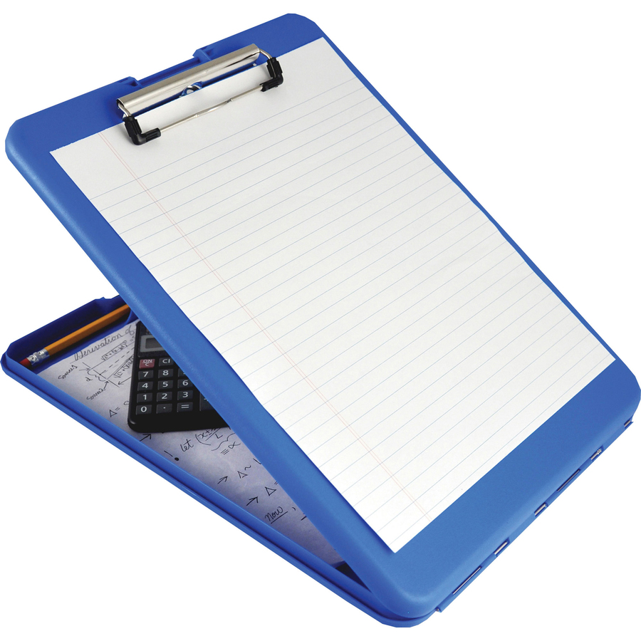 "Saunders SlimMate Storage Clipboard 0.50"" Clip Capacity - Low-profile"