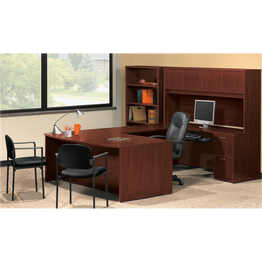 Cherry Laminate Desking - BSXBL2162A1A1 - Blue Cow Office Products