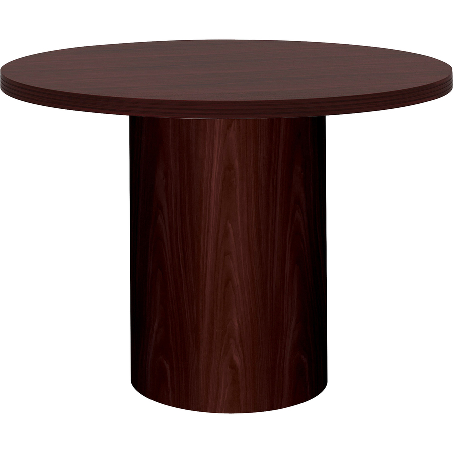 HON Preside Laminate Conference Table Top Mac Papers Inc - Hon round conference table