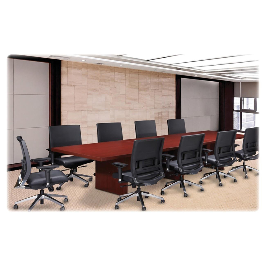 """Lorell Modular Cherry Conference Table Modesty Panel 33.5"""" Width x 15"""