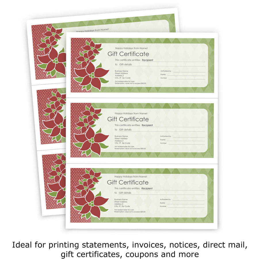 printworks professional pre perforated paper for invoices