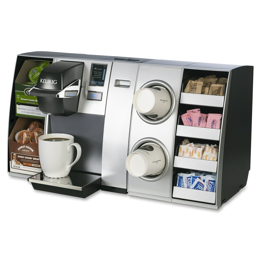 coffee machine with water line