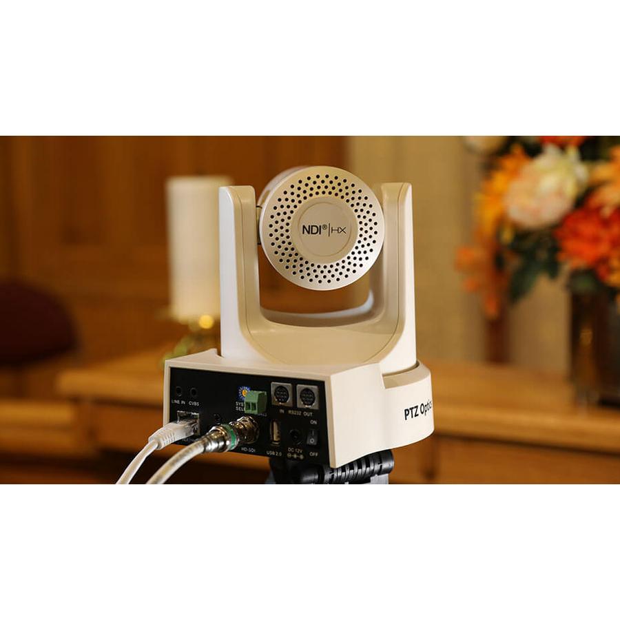PTZOptics PT12X-SDI-GY-G2 Video Conferencing Camera - 2.1 Megapixel - 60 fps - Gray - USB 2.0_subImage_2