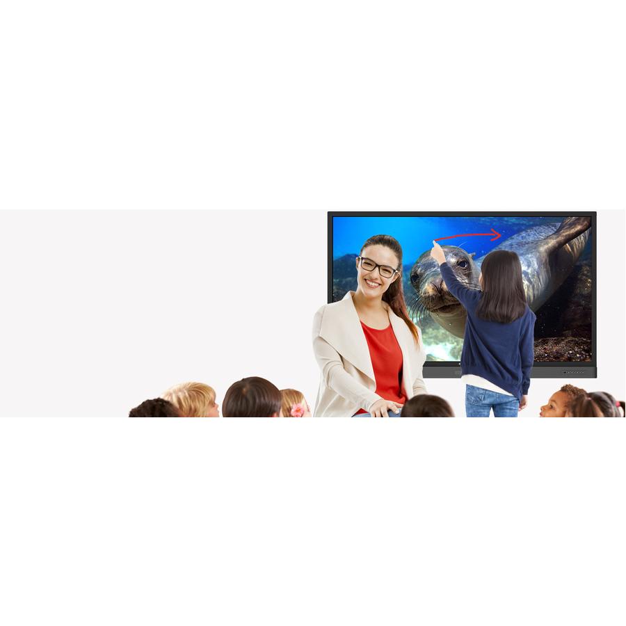 "BenQ RP860K 86"" LCD Touchscreen Monitor - 16:9 - 8 ms_subImage_2"