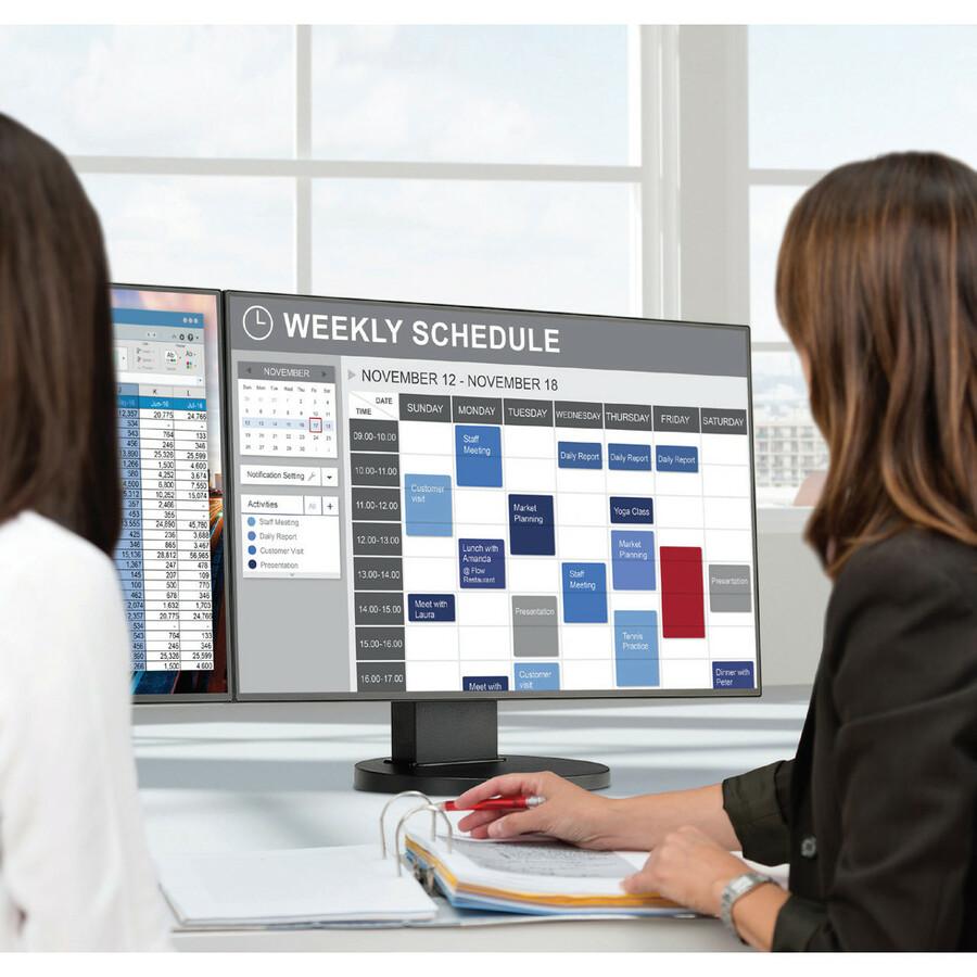 "NEC Display MultiSync EX241UN-PT-H 23.8"" LCD Touchscreen Monitor - 16:9 - 6 ms_subImage_2"