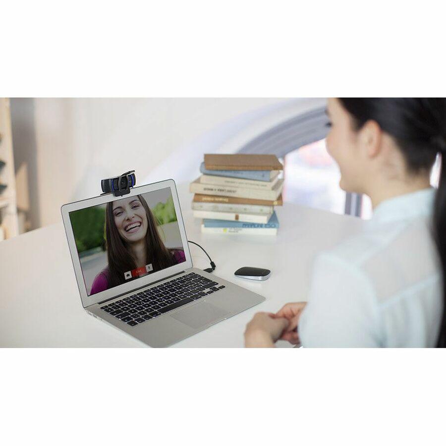 Logitech C920S Webcam - 2.1 Megapixel - 30 fps - USB 3.1_subImage_2