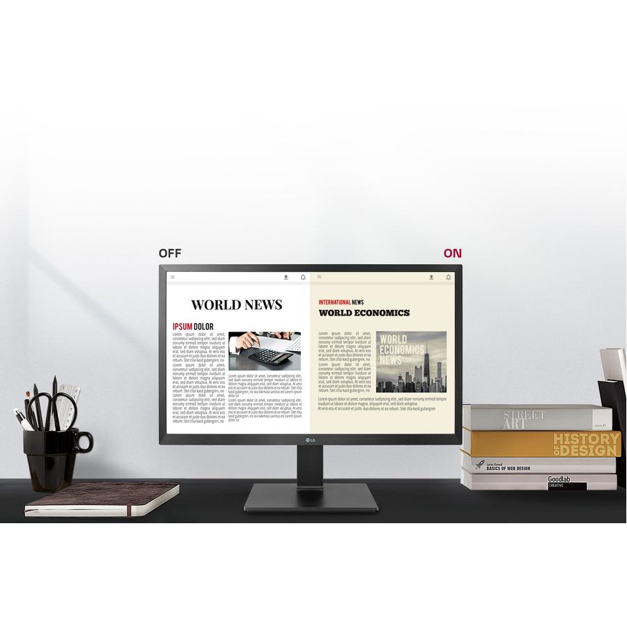 "LG 24BL450Y-B 23.8"" Full HD LCD Monitor - 16:9 - TAA Compliant_subImage_2"