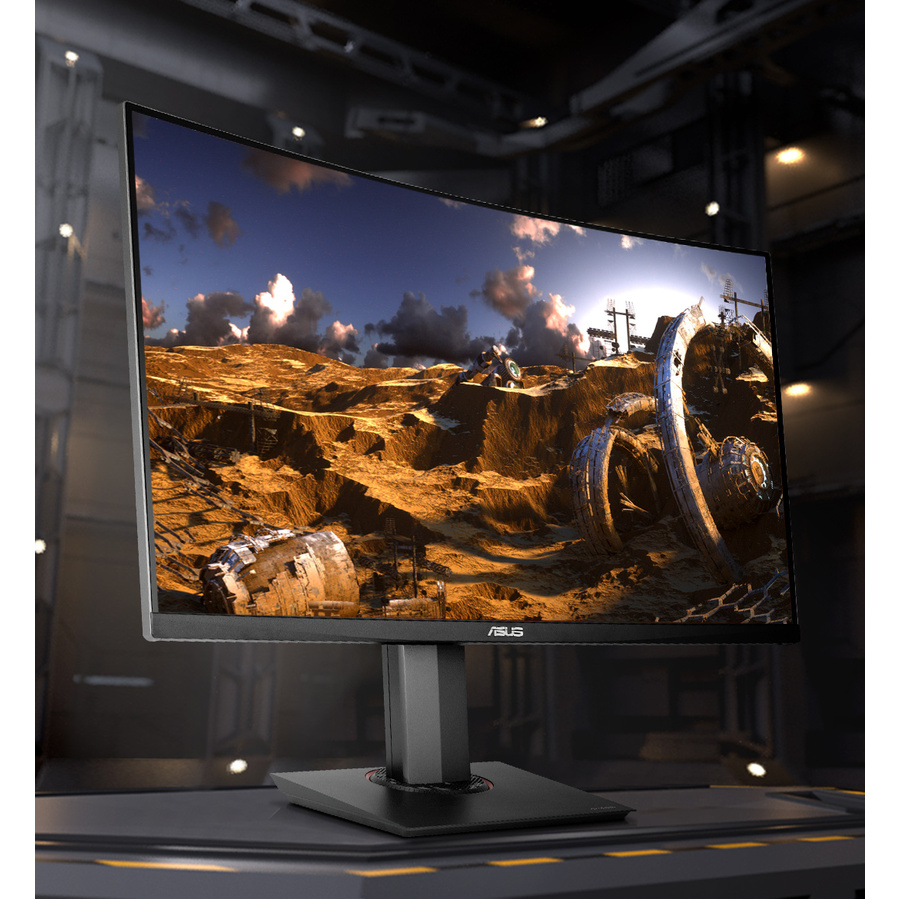"TUF Gaming VG32VQ 31.5"" WQHD Curved Screen WLED Gaming LCD Monitor - 16:9 - Black_subImage_2"