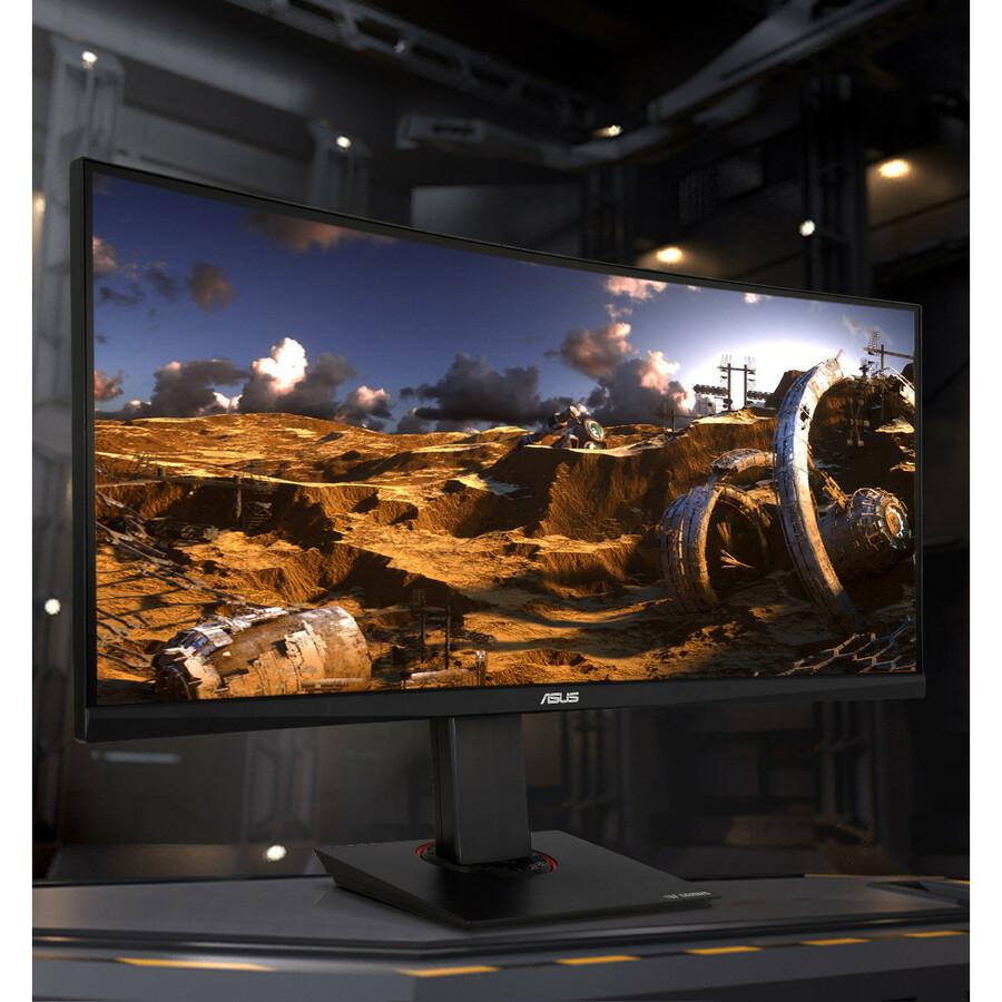 "TUF VG35VQ 35"" WQHD Curved Screen LED Gaming LCD Monitor - 21:9 - Black_subImage_2"