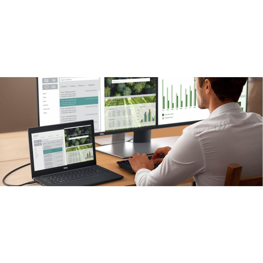 "Dell P2419HC 23.8"" Full HD Edge LED LCD Monitor - 16:9_subImage_2"
