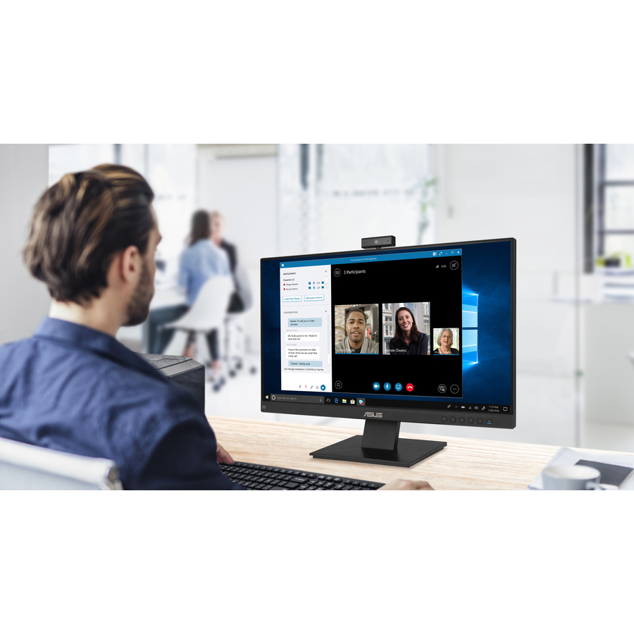 "Asus BE24EQK 23.8"" Full HD WLED LCD Monitor - 16:9 - Black_subImage_2"