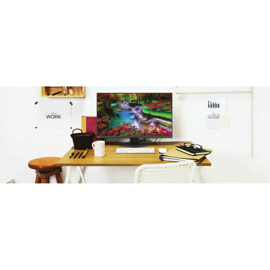 "NEC Display MultiSync EA272F-BK-SV 27"" Full HD WLED LCD Monitor - 16:9_subImage_2"