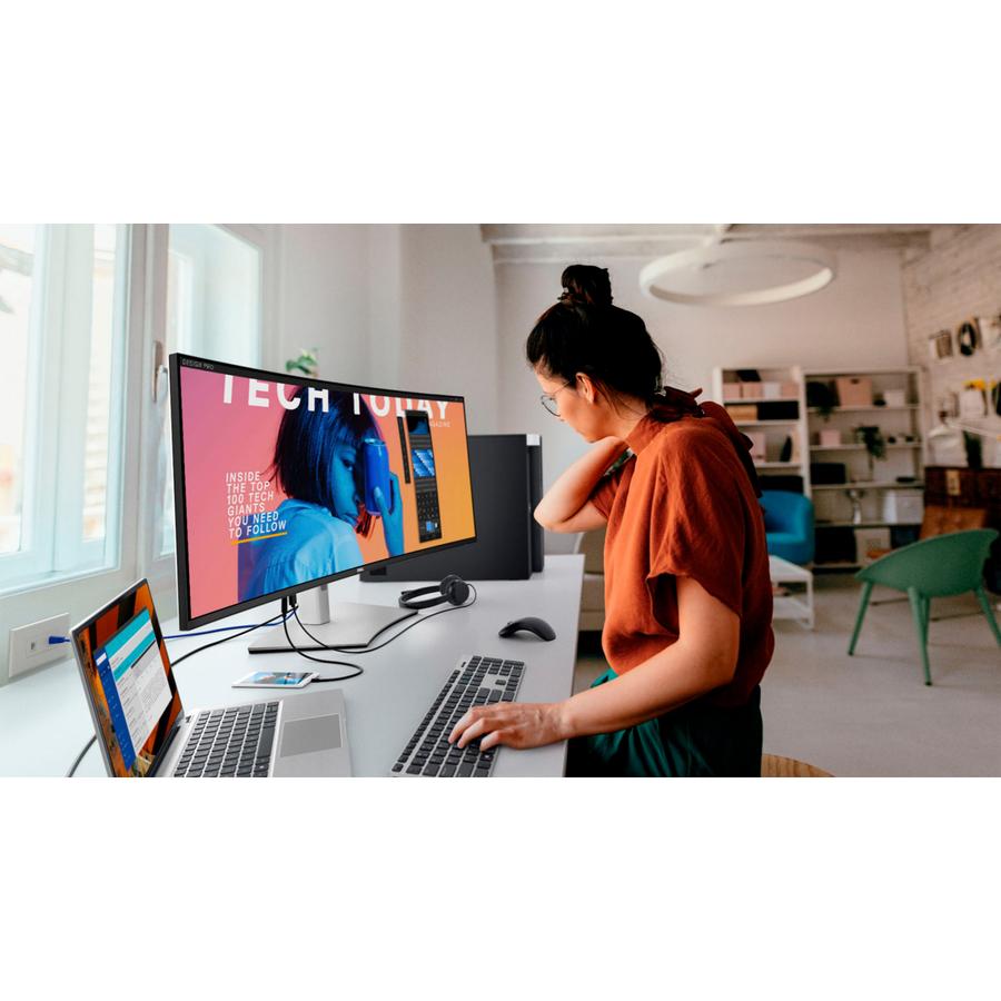 "Dell UltraSharp U4021QW 39.7"" WUHD Curved Screen LCD Monitor_subImage_2"
