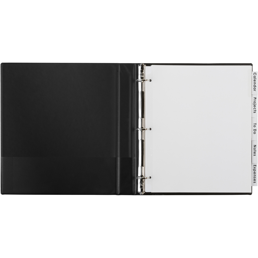 Avery Big Tab Extra Wide White Insertable Dividers - Clear ...
