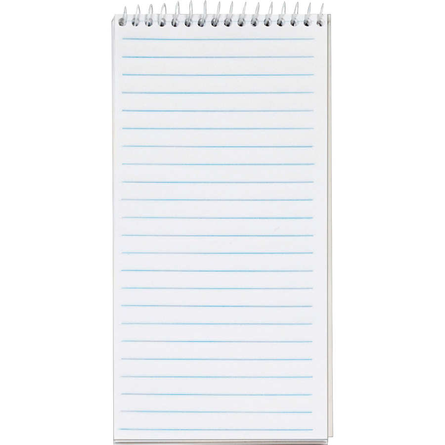 TOPS Gregg Ruled Reporter's Notebook 70 Sheets - Printed - Spiral - 4