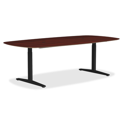 LLR Lorell Lorell Rectangular Conference TLeg Table Base T - T shaped conference table