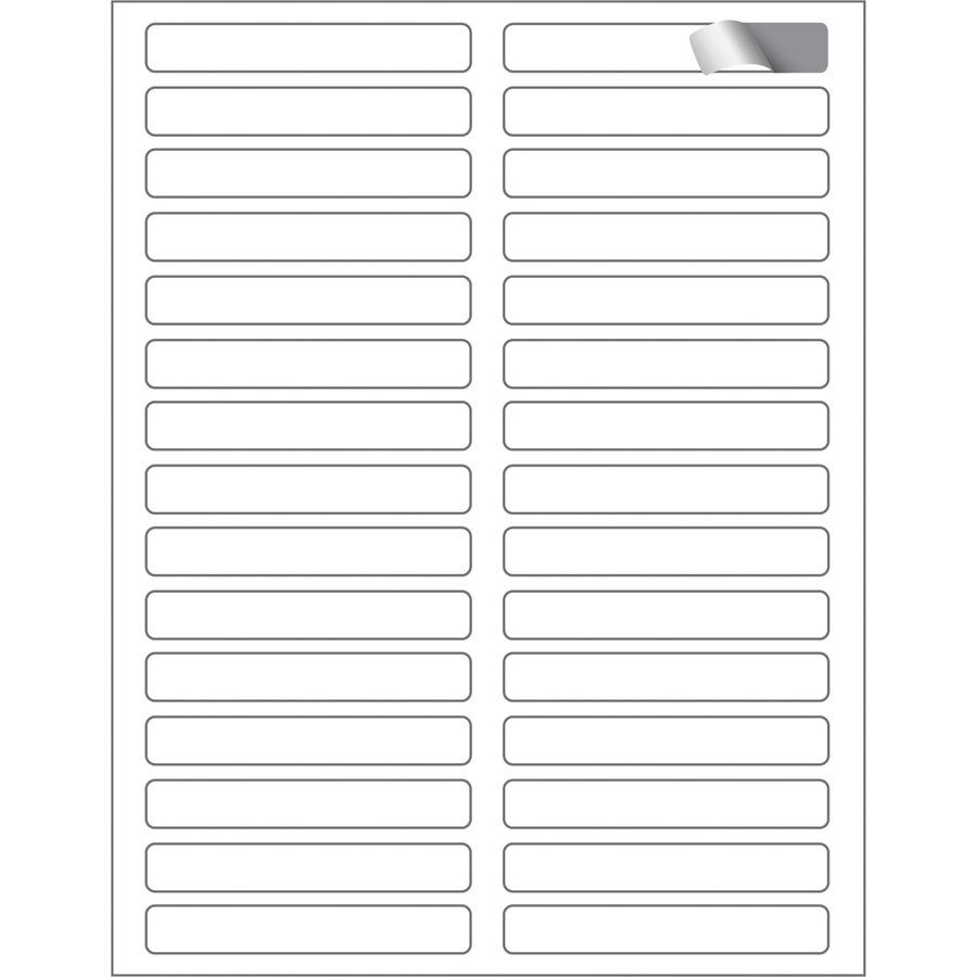 Maco ml ff31 assorted laser inkjet file folder labels for Maco laser and inkjet labels template