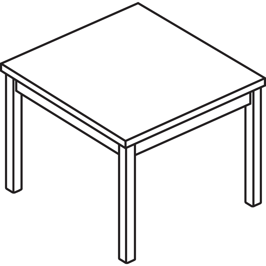 Hon 80192 corner table