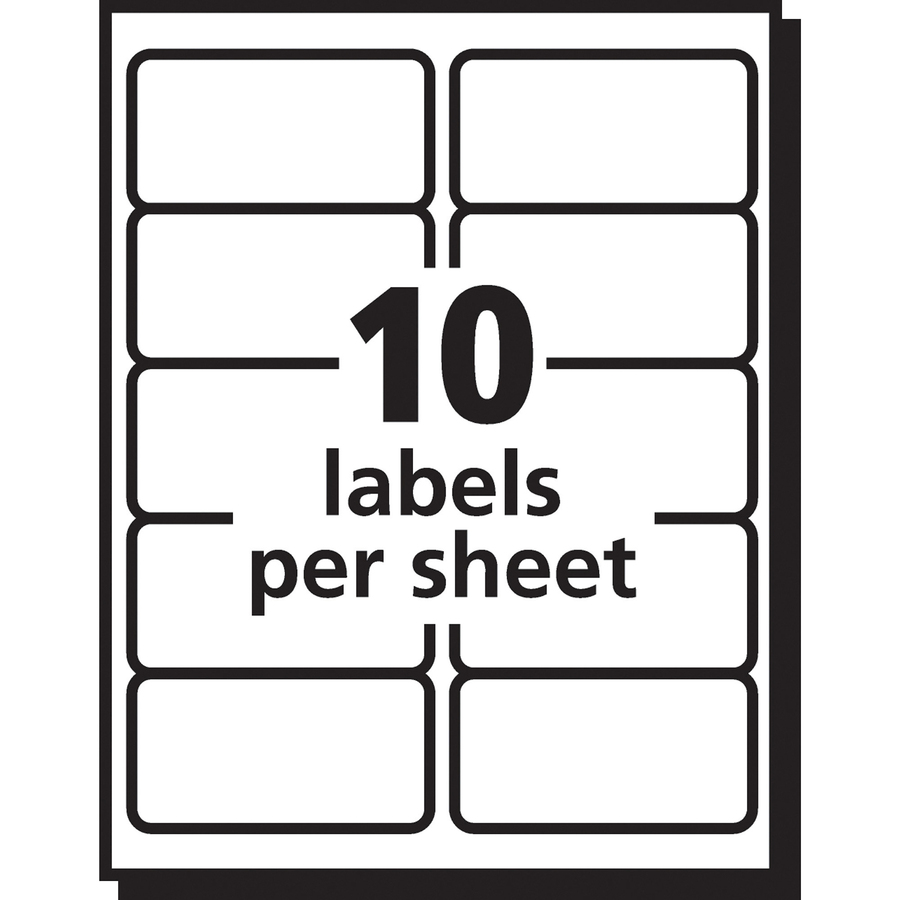 Avery Easy Peel Mailing Label - Mac Papers Inc