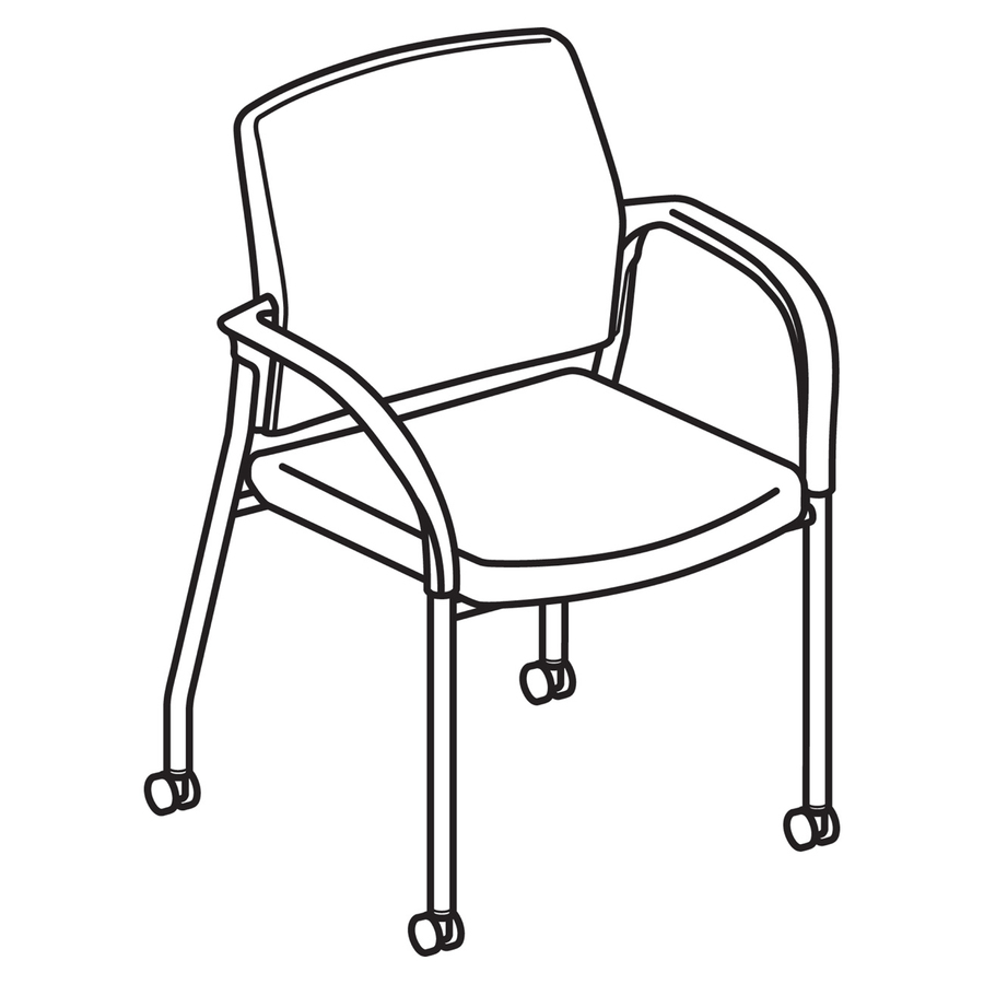 HON Ignition Multi Purpose Stack Chair HONIS109NT90. Line Art ...