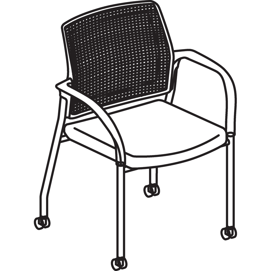 HON Ignition Multi Purpose Stack Chair HONIS109CU42. Line Art ...