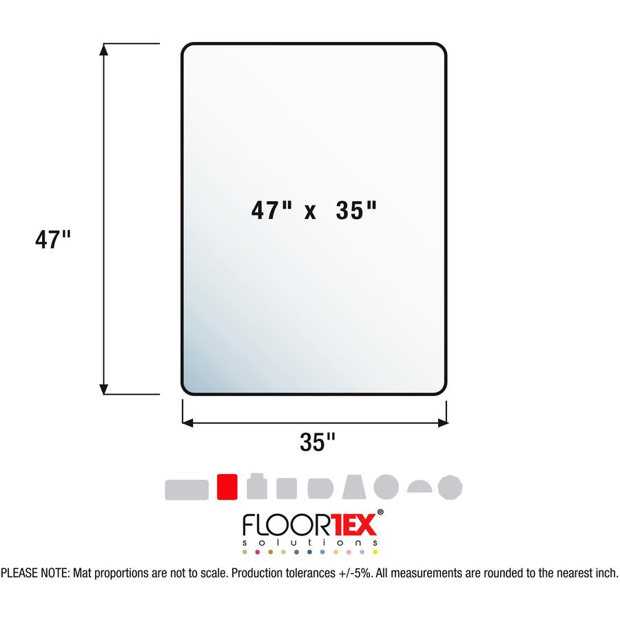 Line Art Floors : Cleartex megamat heavy duty chair mat for hard floors or