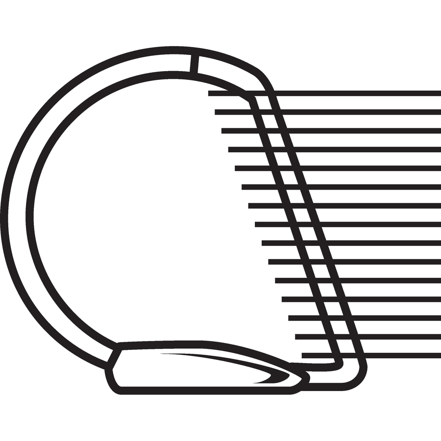 avery slant d ring heavy duty nonstick view binder degroot technology